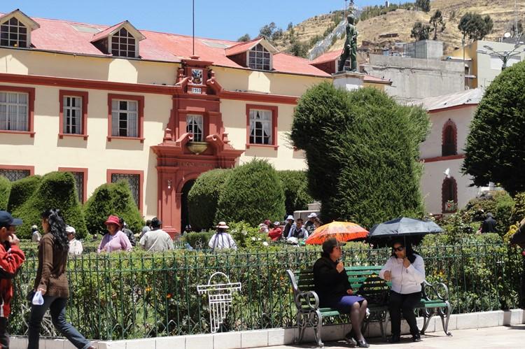 Parque Puno in Puno - Zuid Peru