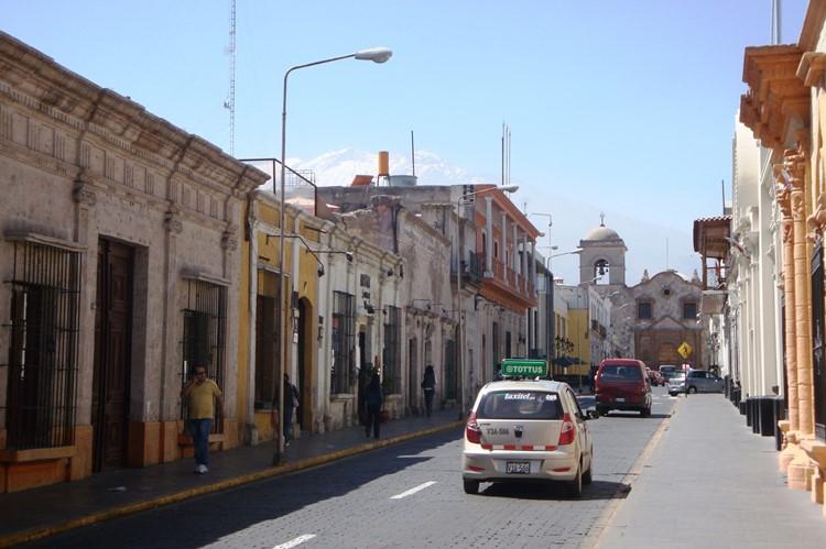 Calle San Francisco in Arequipa - Zuid Peru