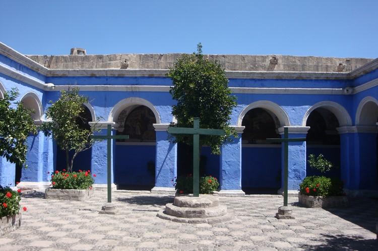 Santa Catalina klooster in Arequipa - Zuid Peru