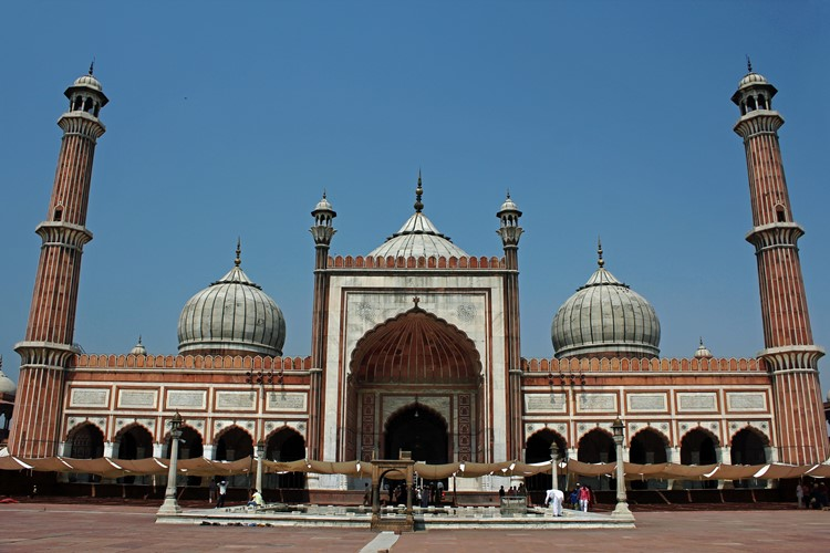 Jama Masjid in Delhi, India