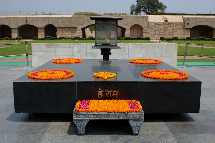 Raj Ghat in Delhi, India