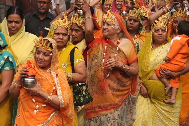 Bji de Lotustempel in Delhi, India