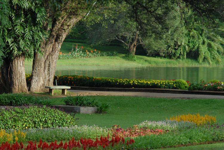 Botanische tuinen in Pyin Oo Lwin - Myanmar