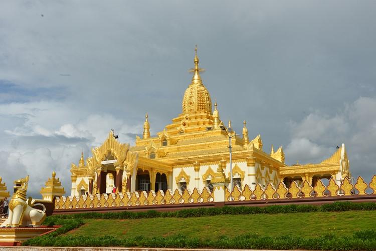 Chinese tempel in Pyin Oo Lwin - Myanmar