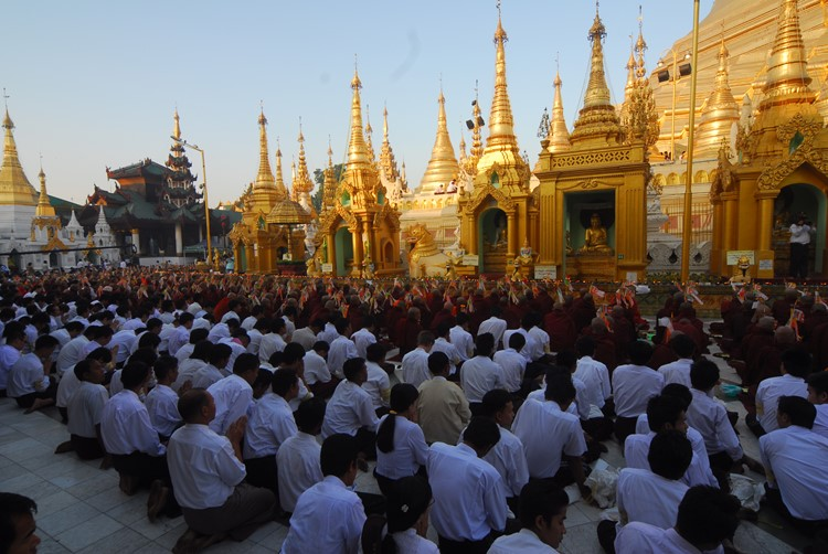 Yangon - Reisebaustein Myanmar