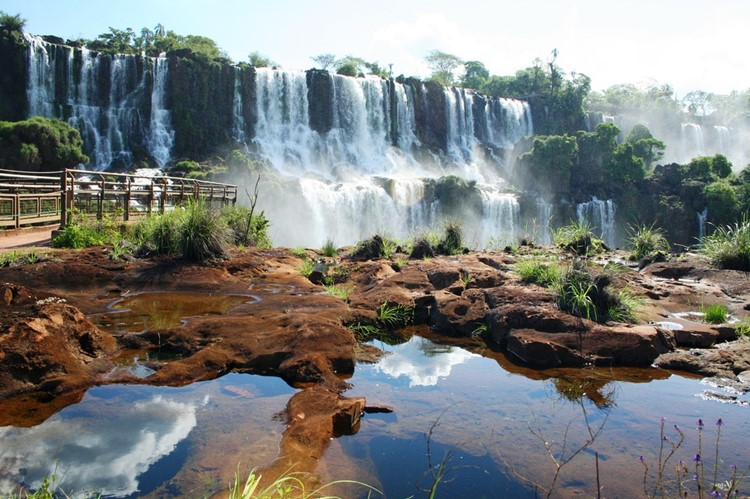 De watervallen van Iguazu - Argentinië