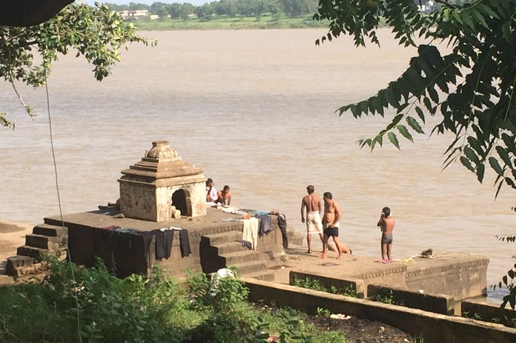 Maheshwar, rondreis Centraal India