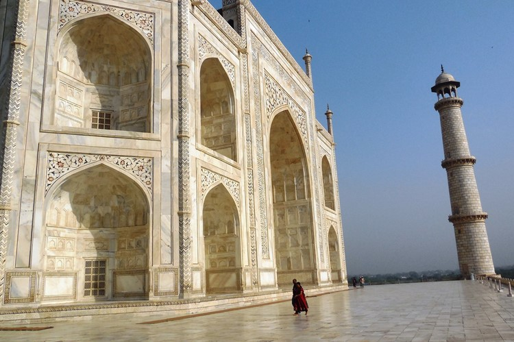 Taj Mahal in Agra - reis India