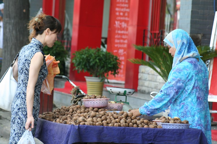 Moslimwijk in Xi'an