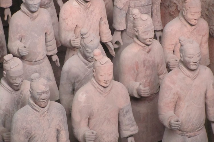 Terracotta Leger bij Xi'an