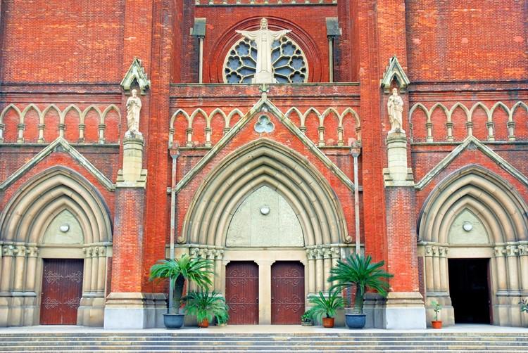 St. Ignacius Cathedral in Shanghai