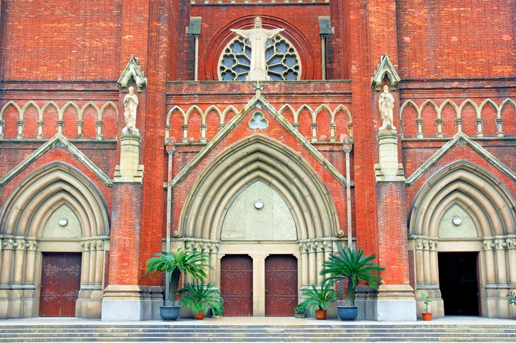 St. Ignacius Cathedral in Shanghai