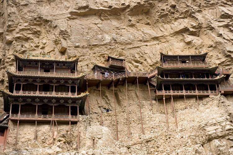 Het hangende klooster van Datong