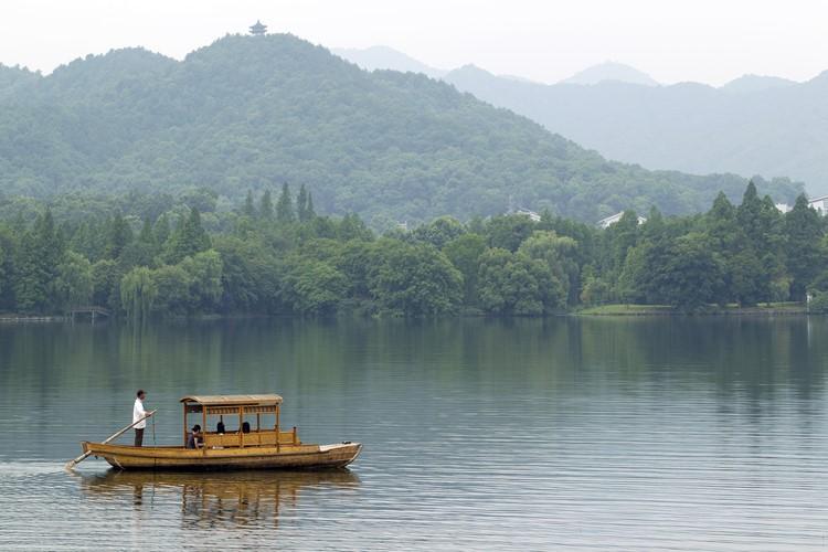 Het West meer in Hangzhou