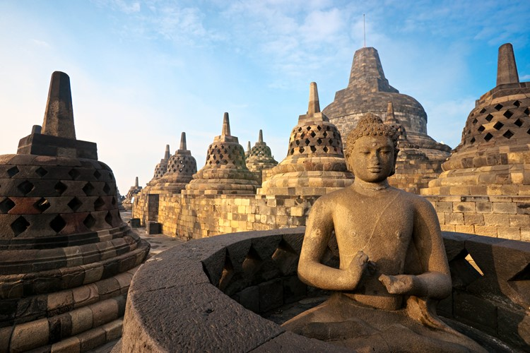 Borobudur -  Java - Indonesië