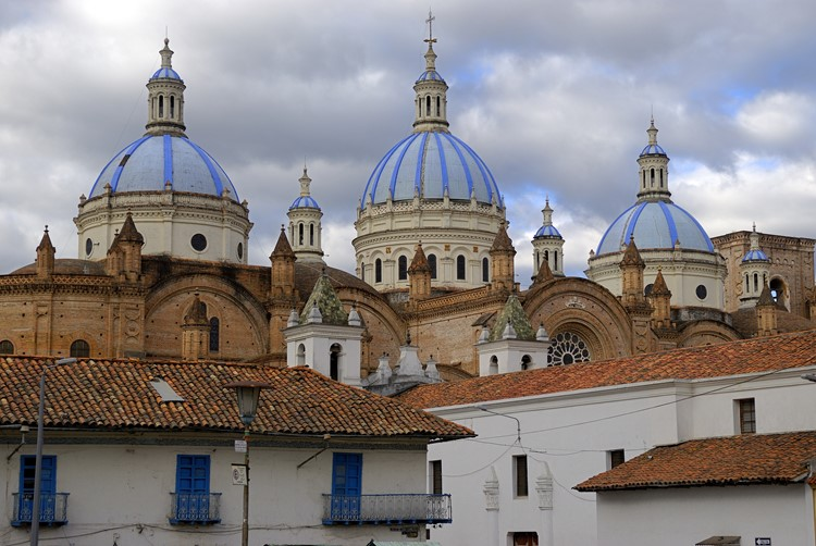 De nieuwe kathedraal van Cuenca - Ecuador