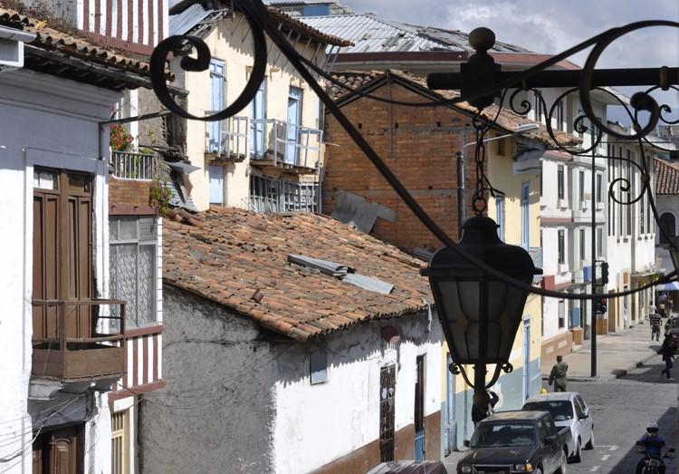 De straten van Cuenca - Ecuador