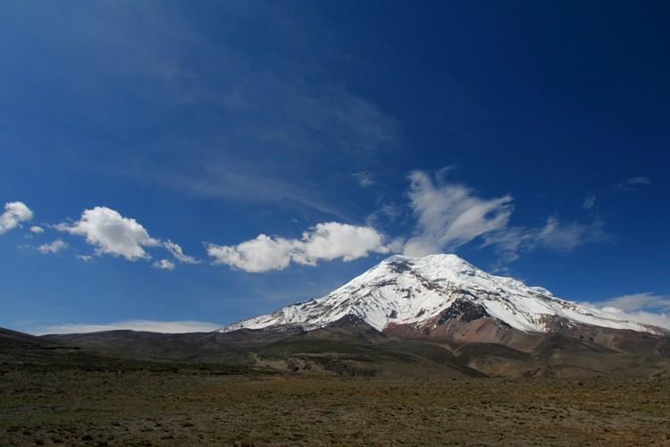 Chimborazo vulkaan bij Riobamba - Ecuador