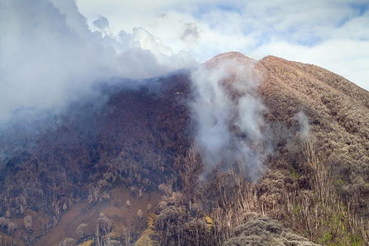 Turrialba vulkaan, Costa Rica