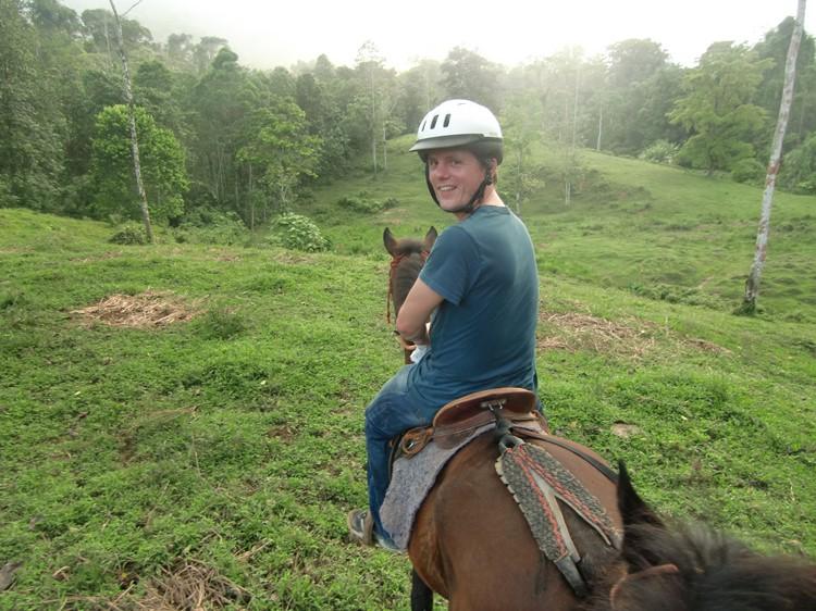 Selva Bananito paardrijden - reis Costa Rica