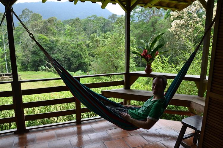 Tijd om te relaxen in Selva Bananito, Costa Rica