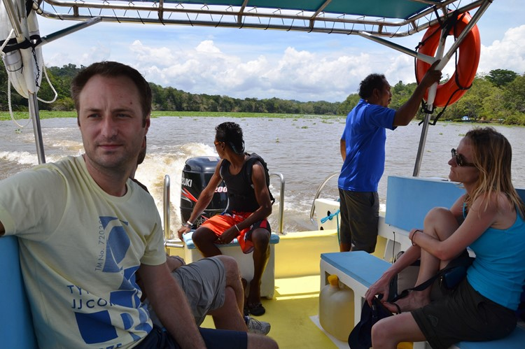 Op weg naar Drake Bay, Costa Rica