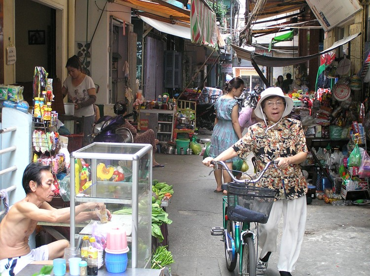 Straatbeeld Ho Chi Mnh Stad