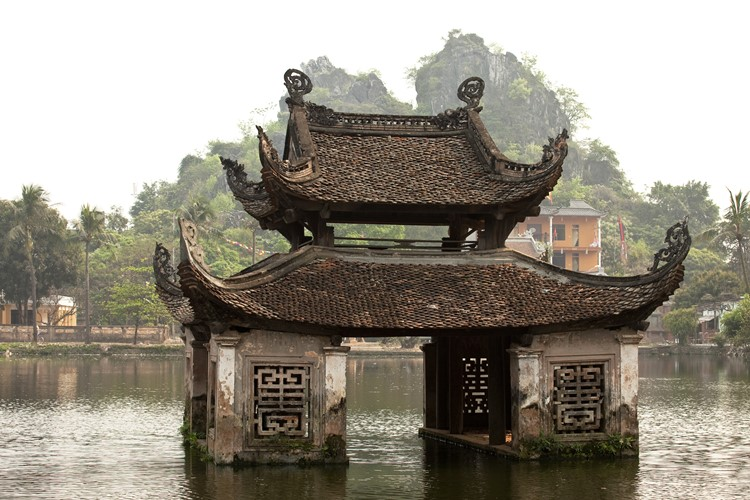 Hanoi - Baustein Vietnam