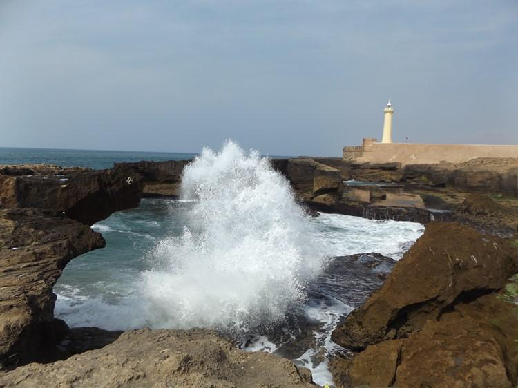 Zee bij Rabat - Marokko