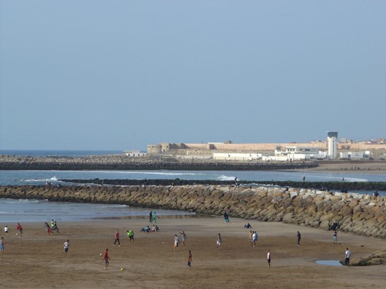 Het uitzicht op buurstad Salé - Rabat - Rabat
