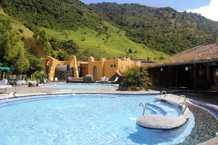 Warmwaterbaden van Papallacta -  Ecuador