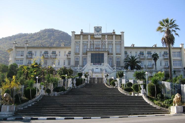 Oude hotel in Ramsar - Iran