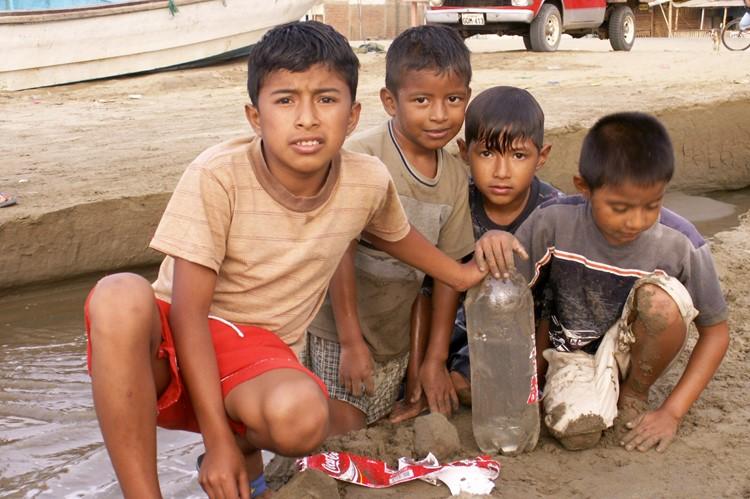 De kinderen van Puerto Lopez - Ecuador