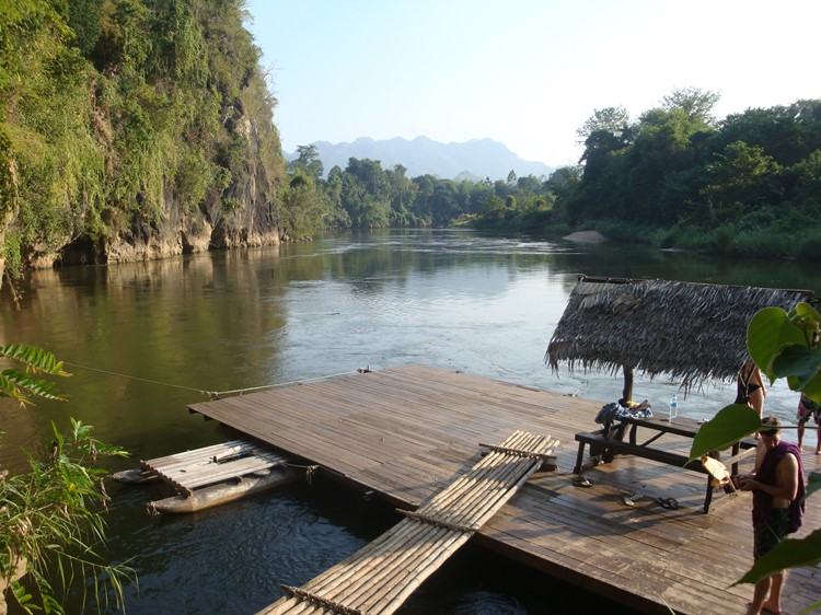Kanchanaburi - Reisebaustein Thailand