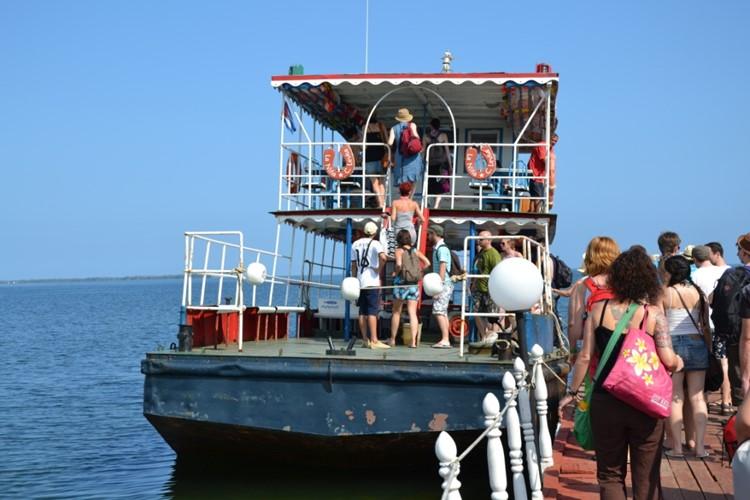 Ferry Cayo Levisa, Cuba