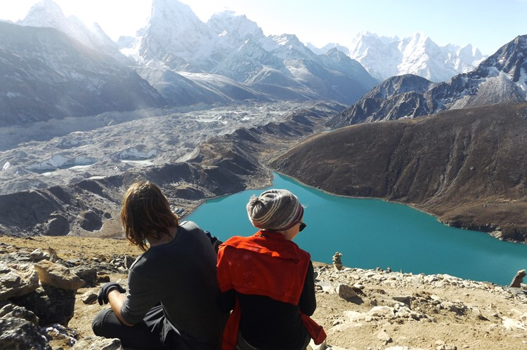 Gokyo meren - Everest Base Camp trek - Nepal