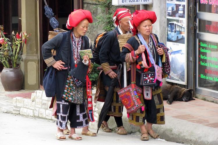 Bijzondere minderheden in Sapa, Vietnam
