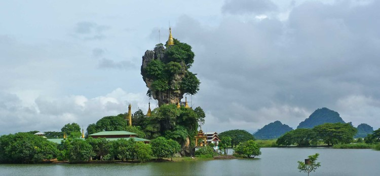 Hpa-an in Myanmar