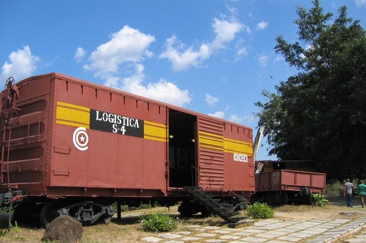 Treinwagon Santa Clara, El Tren Blindado