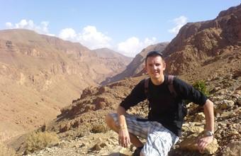 Peter in Marokko