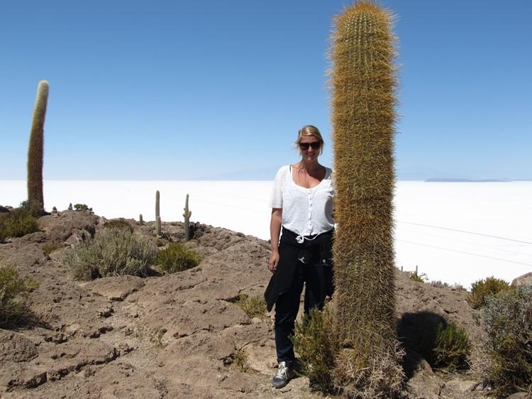 Inca Huasi - Salar van Uyuni - Bolivia