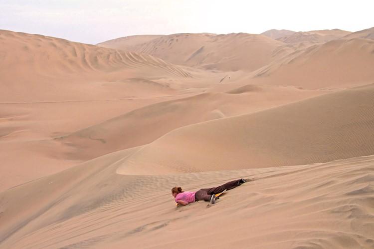 De duinen van Huacachina bij Ica - Zuid Peru