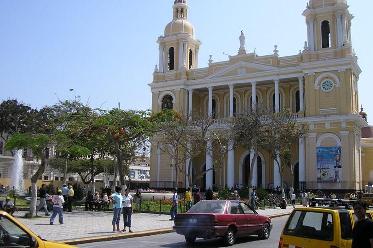 De kathedraal - Chiclayo - Noord Peru