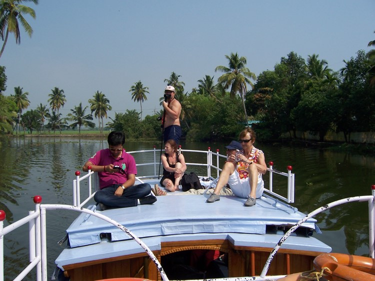 Backwaters Südindien