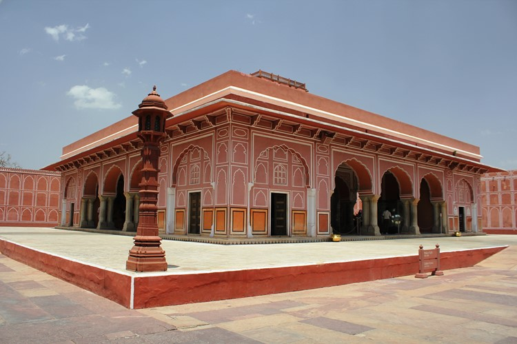 Jaipur City Palacet - reis India