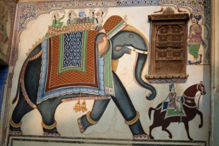 Nawalgarh - Reisebaustein Indien