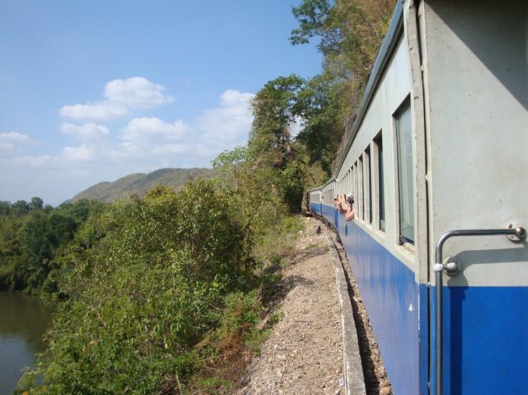 Spoorlijn - Kanchanaburi
