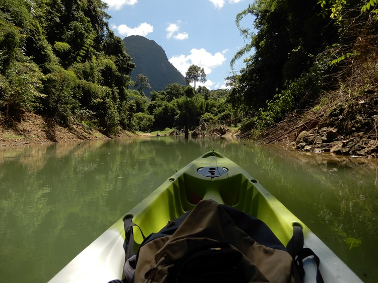 Lake excursies - Khao Sok Nationaal Park, Thailand