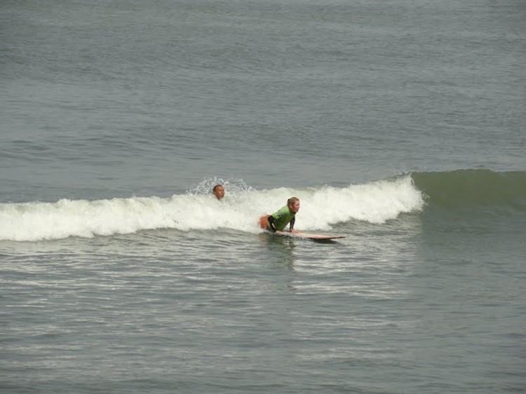 Surfles in Huanchaco - Noord Peru