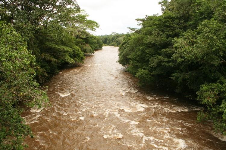 Reise Costa Rica - Río Sarapiquí